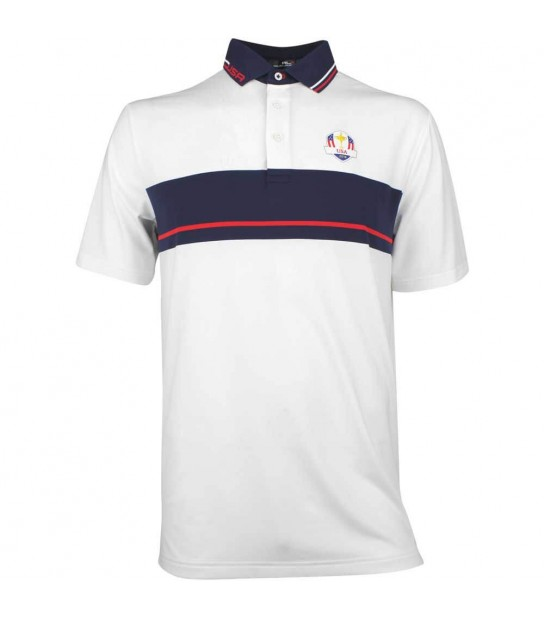 c288994e RLX Ryder Cup Golf Shirt - YD Chest Stripe Airflow - Team USA 2018. Tap or  hover to zoom. Polo Ralph Lauren Ryder Cup