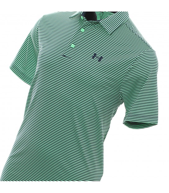 Under Armour Polo Shirt 4467 - green stripes